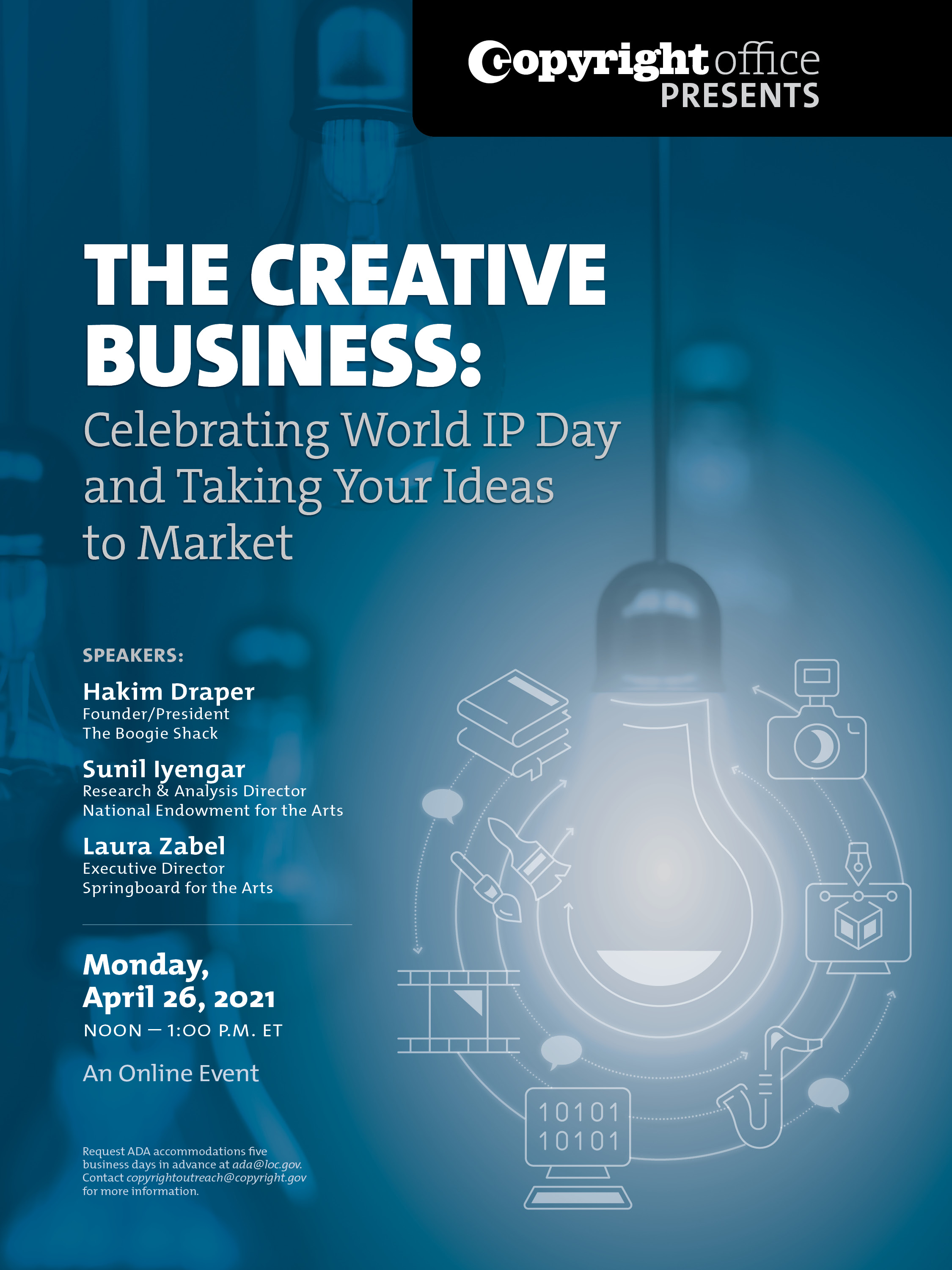 The Creative Business: Celebrating World IP Day and Taking Your Ideas to Market